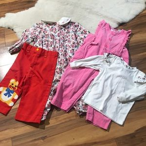 💎 Lot 4 Pcs Baby Girls Clothes Assorted Size 18m